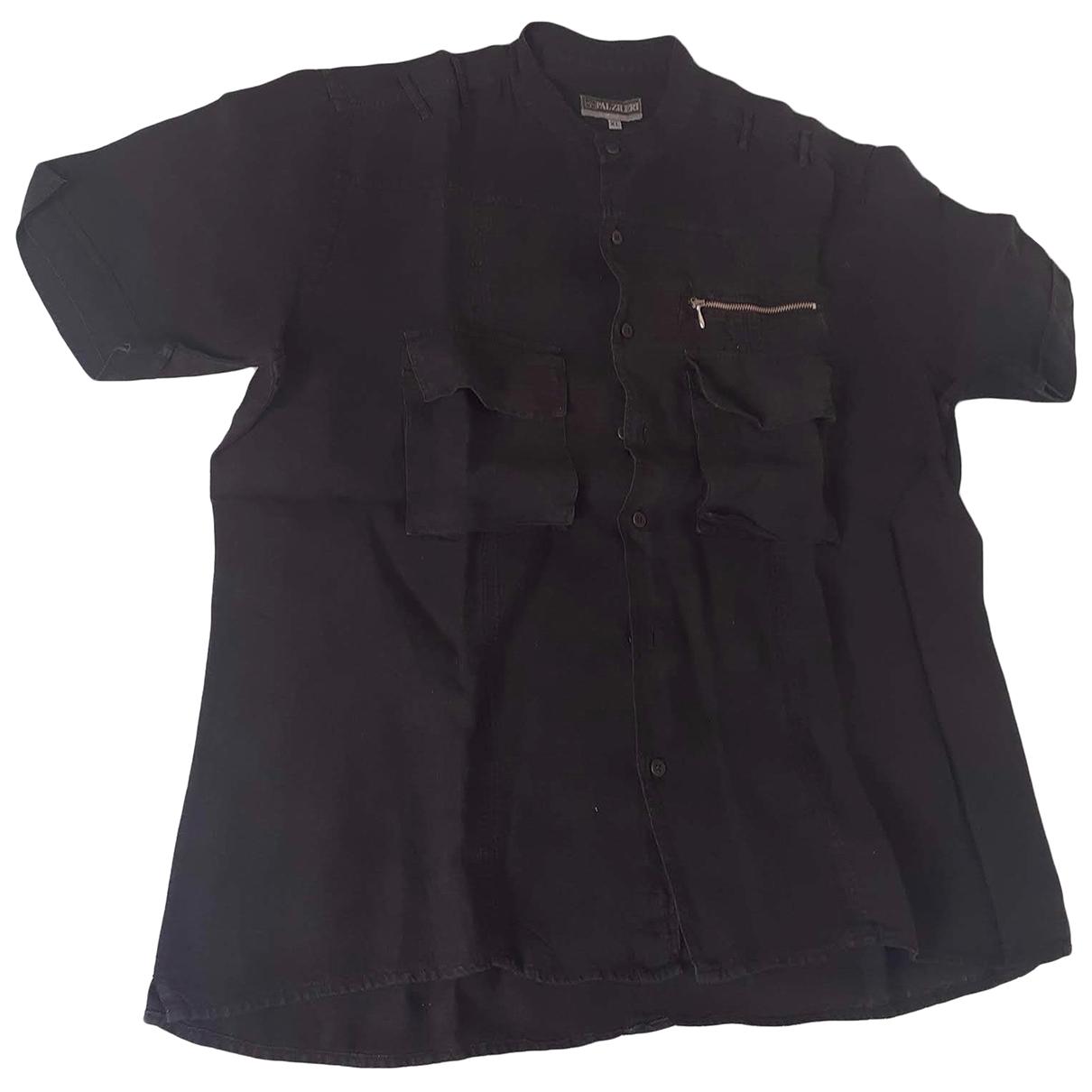 Pal Zileri \N Hemden in  Schwarz Baumwolle