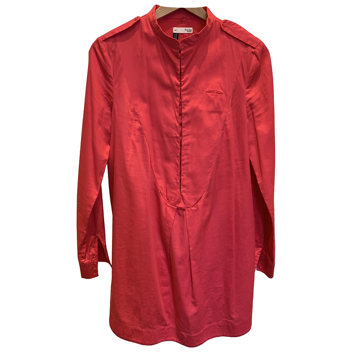 Hoss Intropia \N Red Cotton  top for Women 44 IT