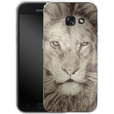 Samsung Galaxy A3 (2017) Silikon Handyhuelle - Leo Lion von Eric Fan