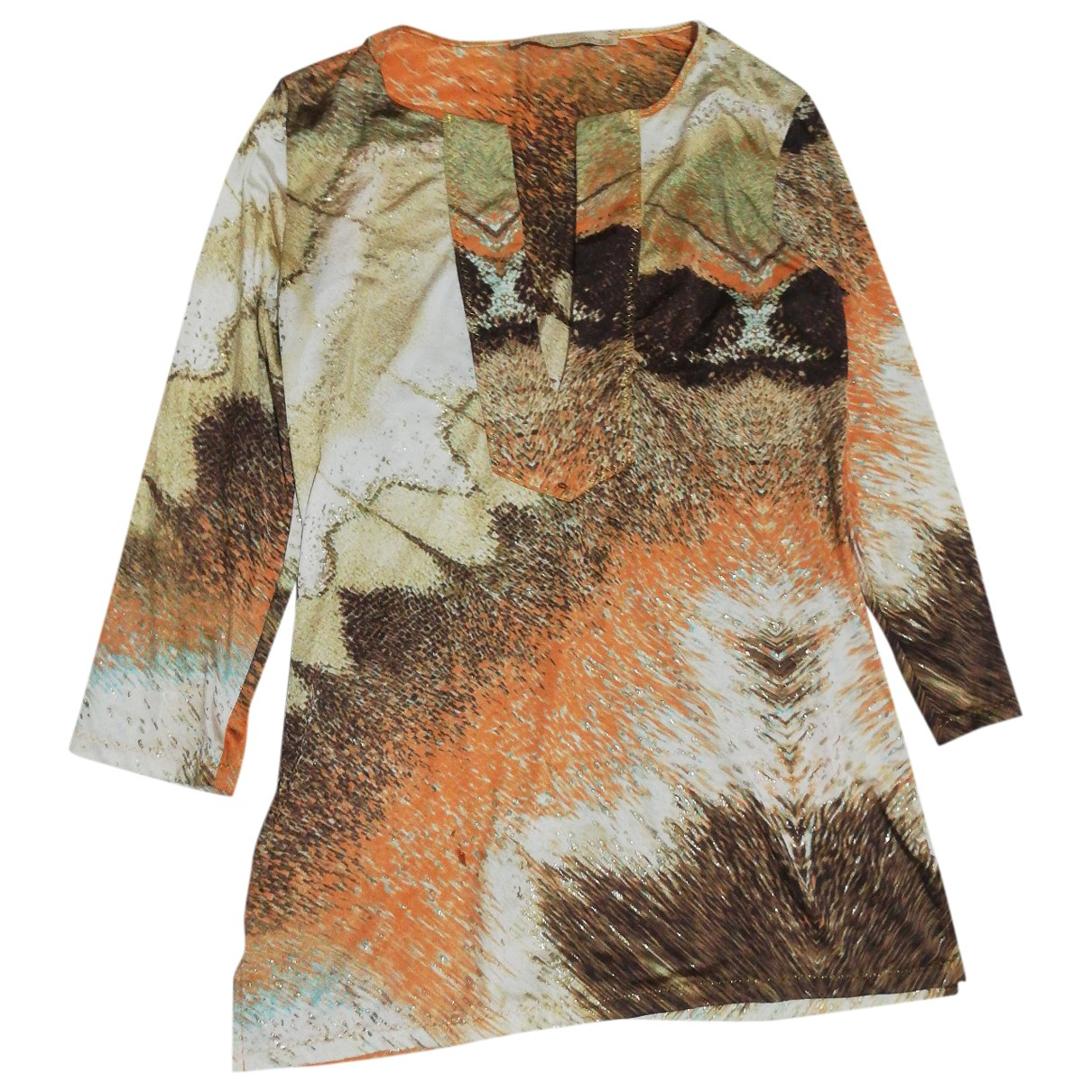 Class Cavalli \N Multicolour  top for Women 44 IT