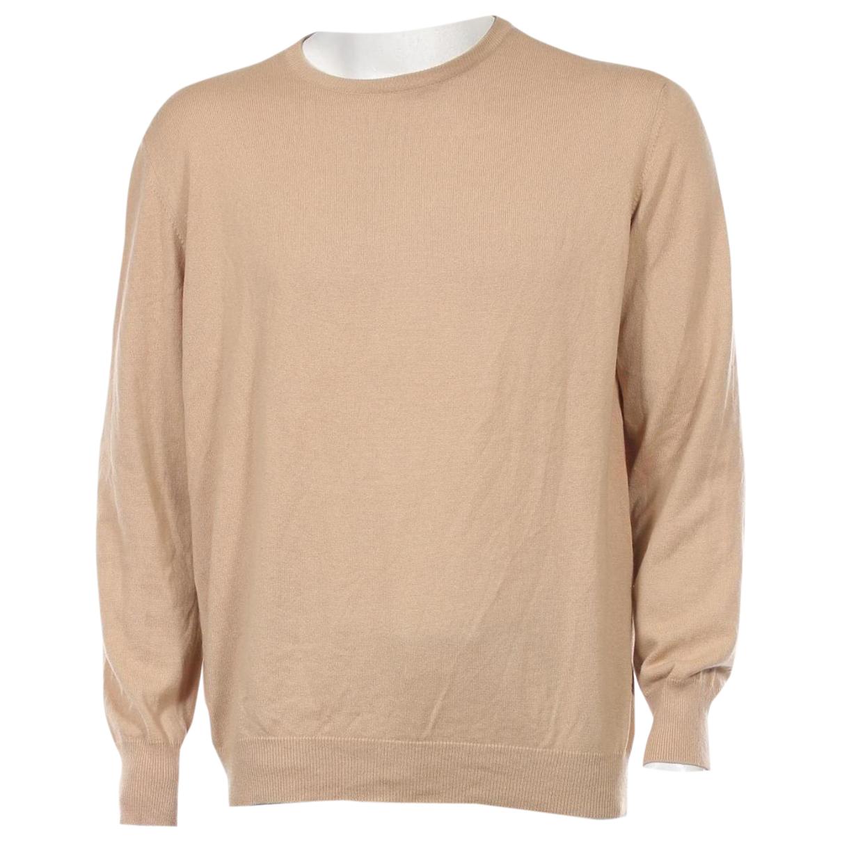 Malo \N Pullover.Westen.Sweatshirts  in  Beige Kaschmir