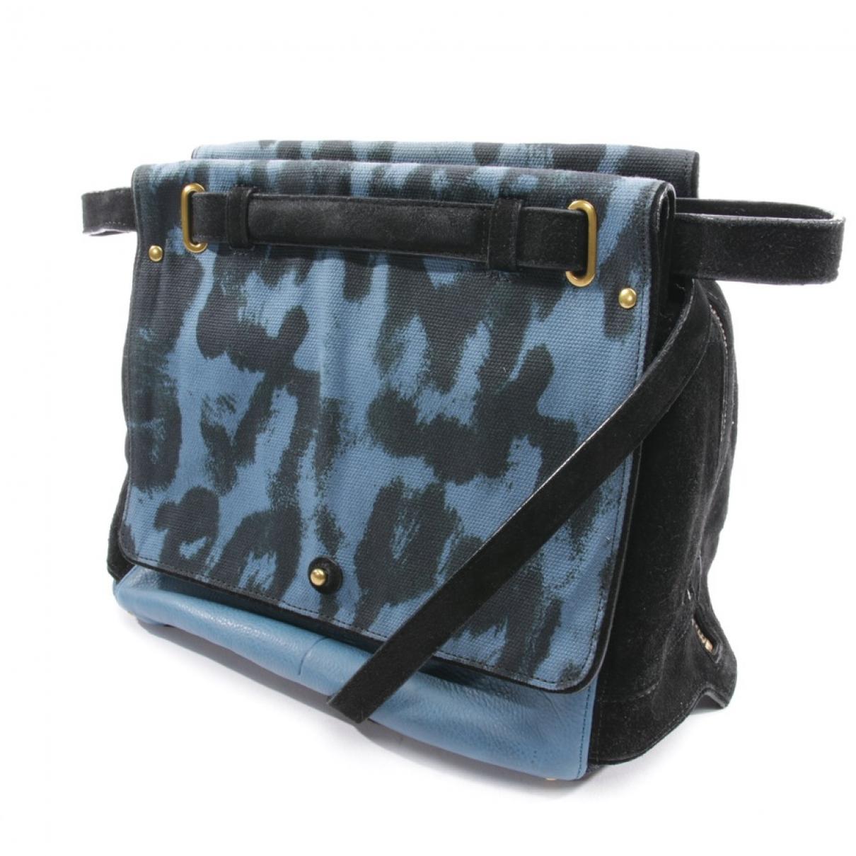Jerome Dreyfuss Johan Blue handbag for Women \N