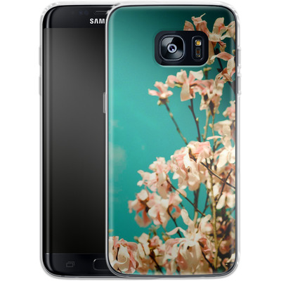 Samsung Galaxy S7 Edge Silikon Handyhuelle - Spring Kingwood von Joy StClaire