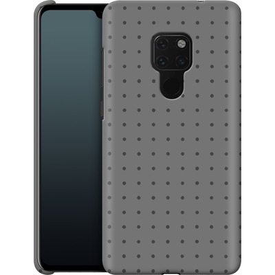 Huawei Mate 20 Smartphone Huelle - Dot Grid Grey von caseable Designs