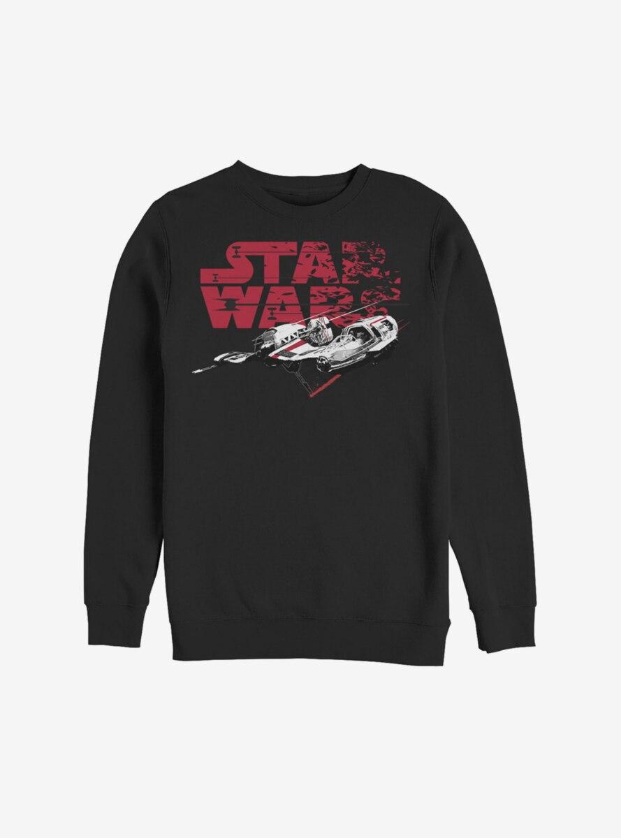 Star Wars Episode VIII The Last Jedi Distressed Sweatshirt