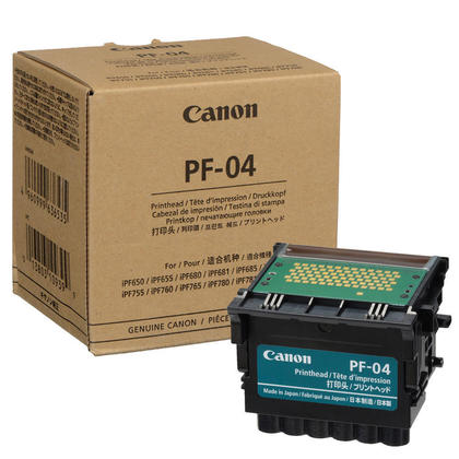 Canon PF-04 Original Black Printhead