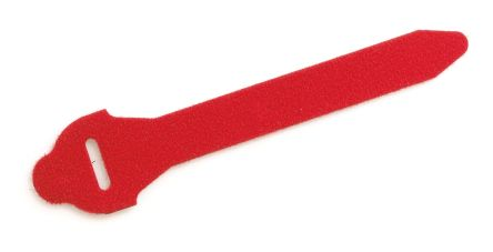Legrand Red Hook & Loop Cable Tie, 300mm x 16 mm (10)