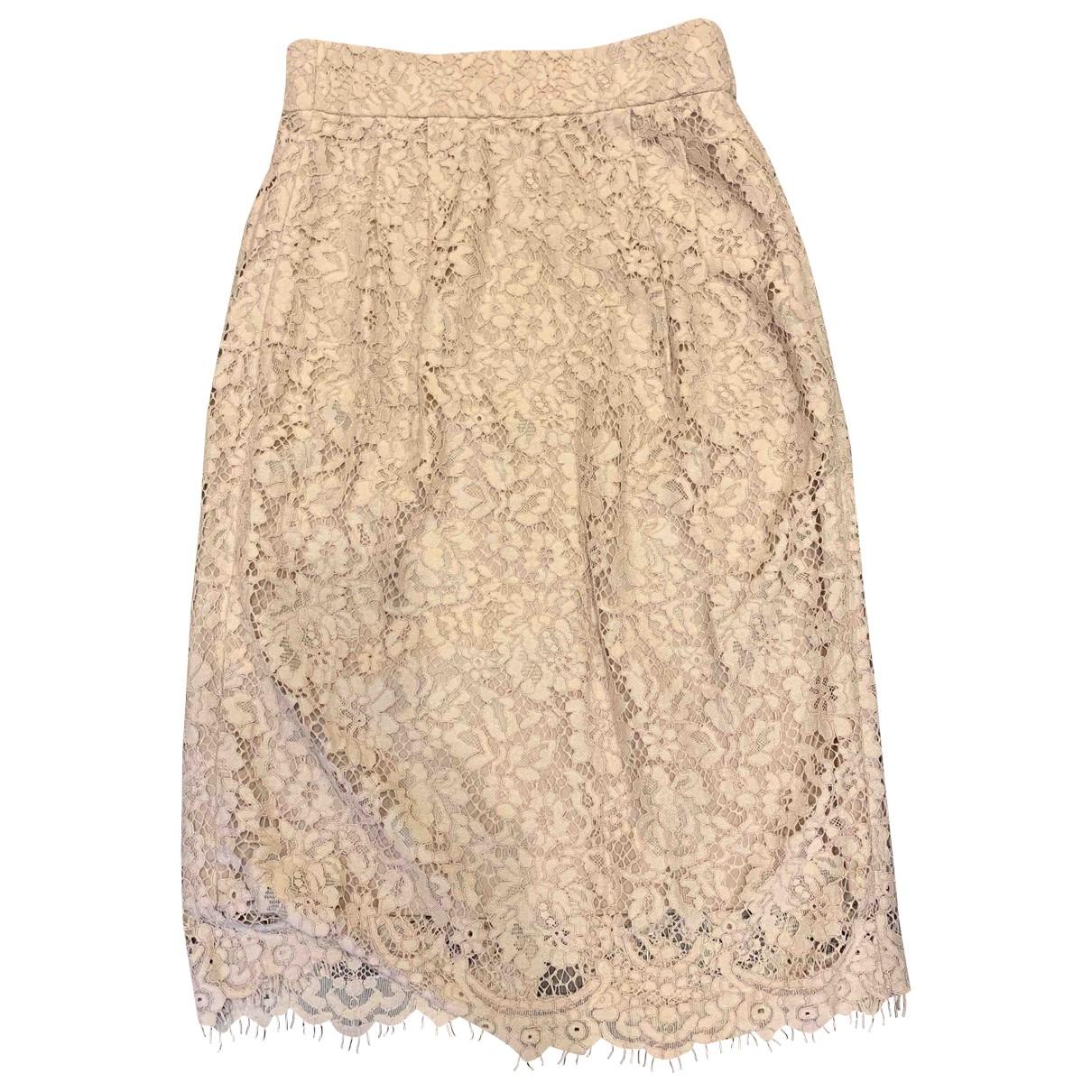 J.crew \N Beige skirt for Women 00 0-5