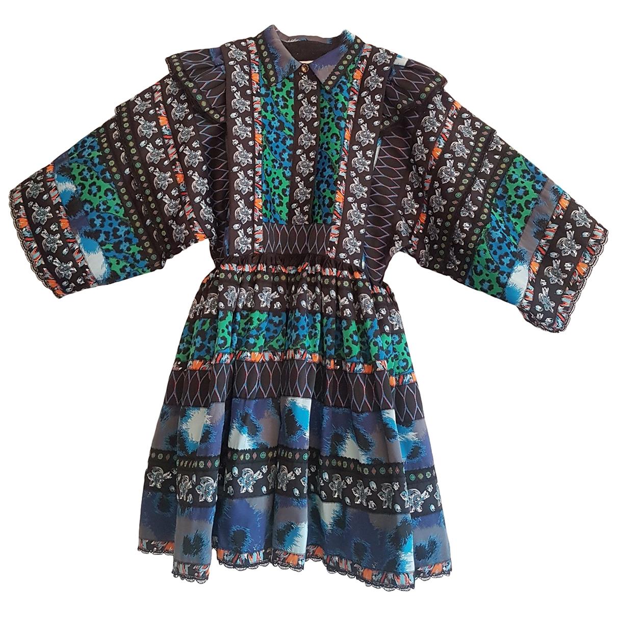 Kenzo X H&m \N Blue dress for Women 36 FR
