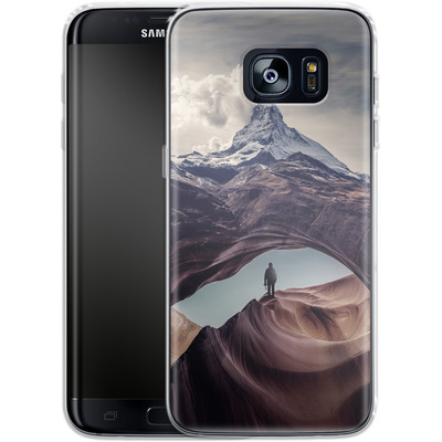 Samsung Galaxy S7 Edge Silikon Handyhuelle - The Great Outdoors von Enkel Dika