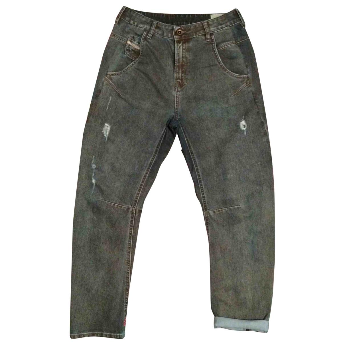 Diesel \N Blue Cotton - elasthane Jeans for Women 29 US