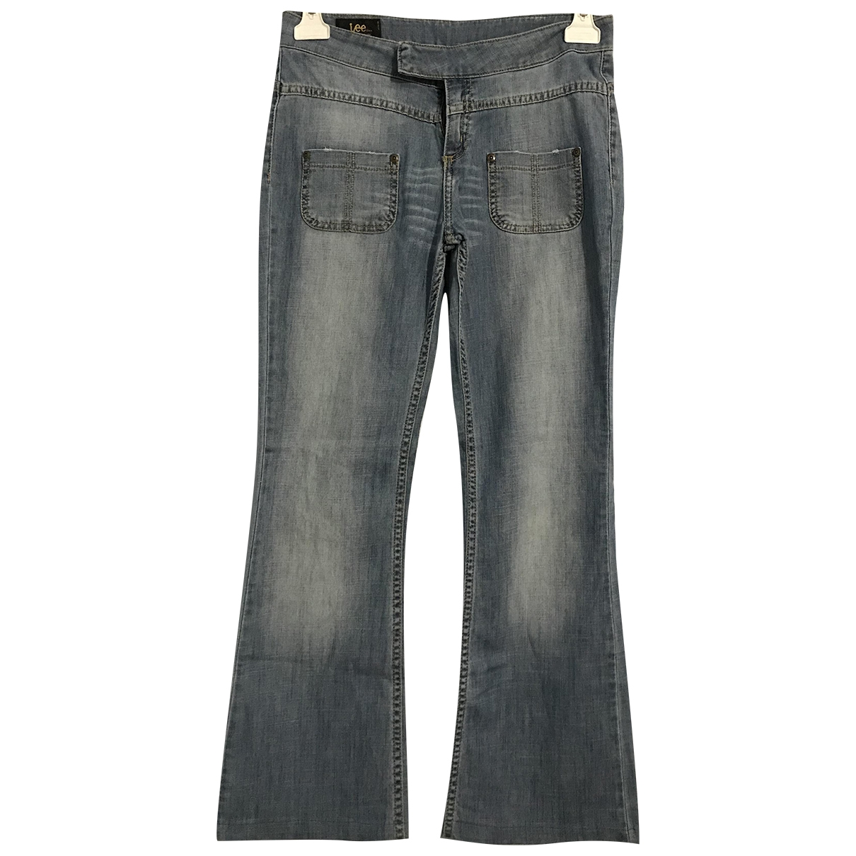 Lee \N Blue Denim - Jeans Trousers for Kids 16 years - M FR