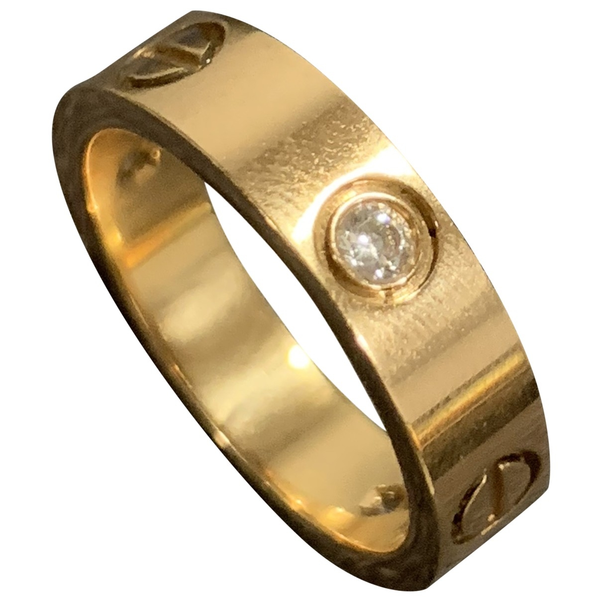 Cartier - Bague Love pour femme en or rose - dore