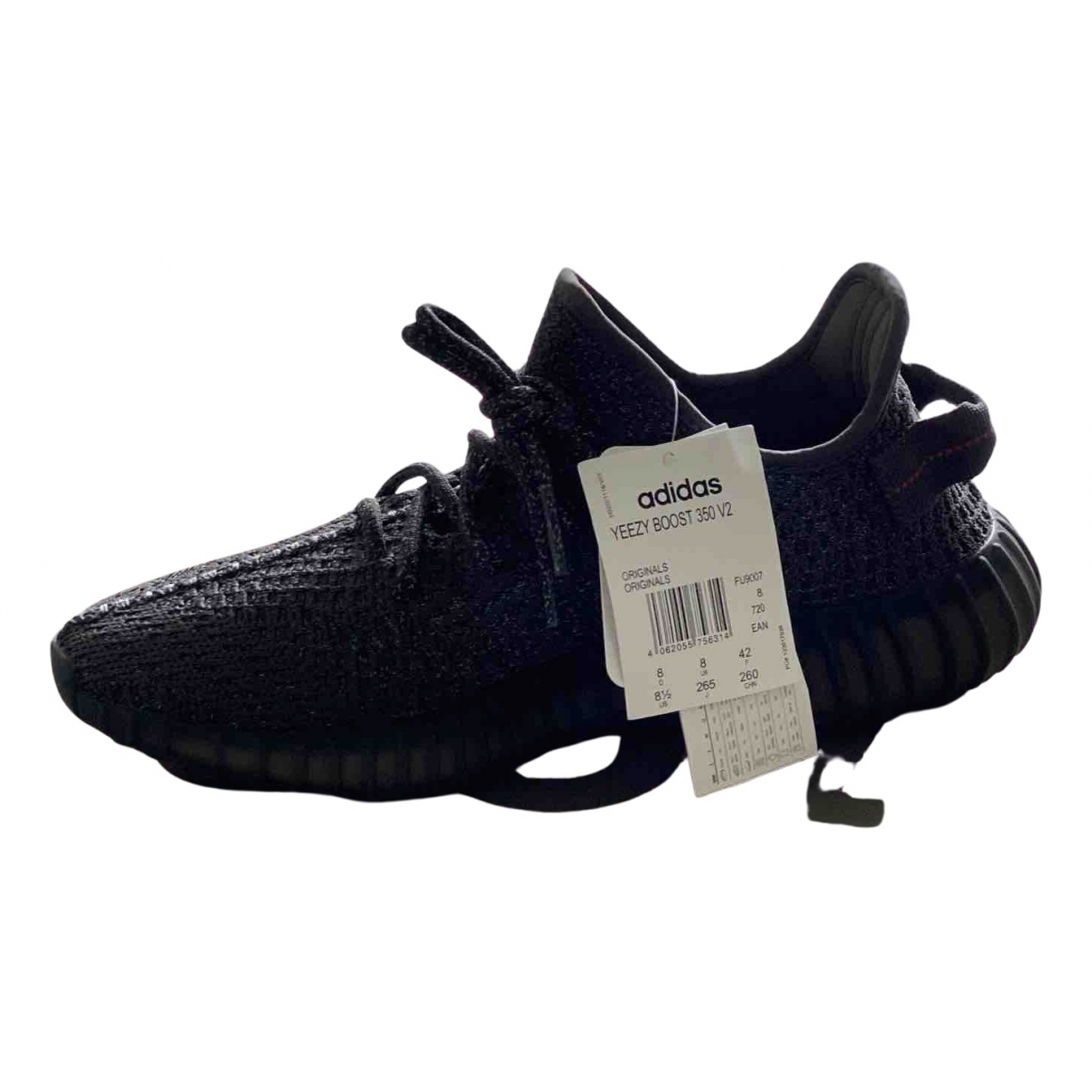 Yeezy X Adidas Boost 350 V2 Black Trainers for Men 42 EU