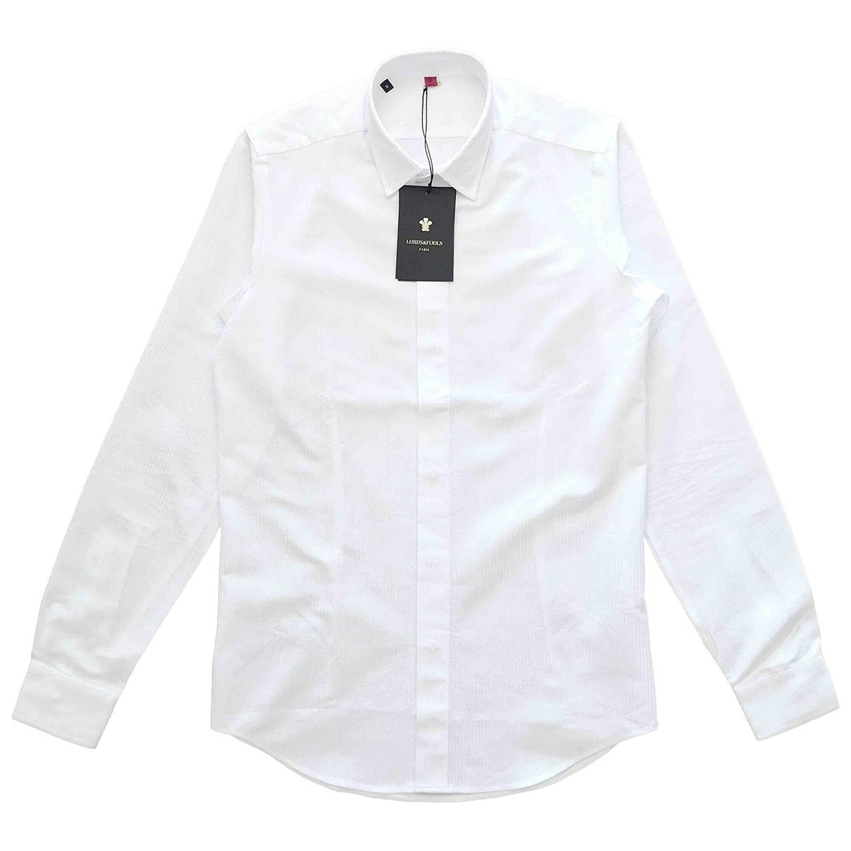 Lords & Fools \N Hemden in  Weiss Baumwolle
