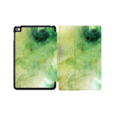 Apple iPad mini 4 Tablet Smart Case - Abstract Galaxy - Green von Barruf