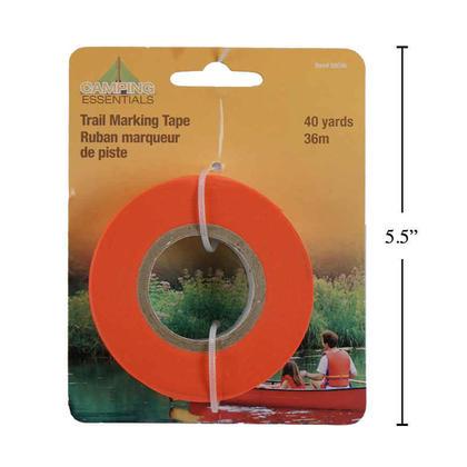 Ruban de marquage non-adhésif pour extérieur, couleur vive, 40yds / 36M, 1 pc