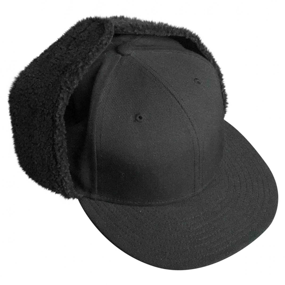 Yohji Yamamoto - Chapeau & Bonnets   pour homme en laine - noir