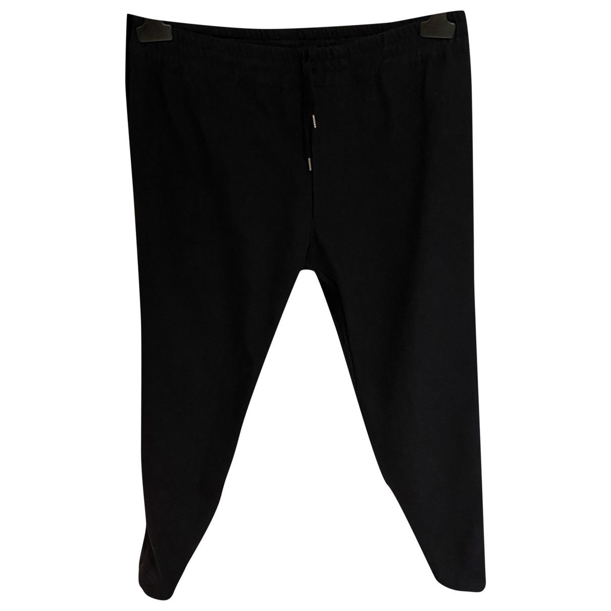 Pantalones en Viscosa Marino Alexander Mcqueen