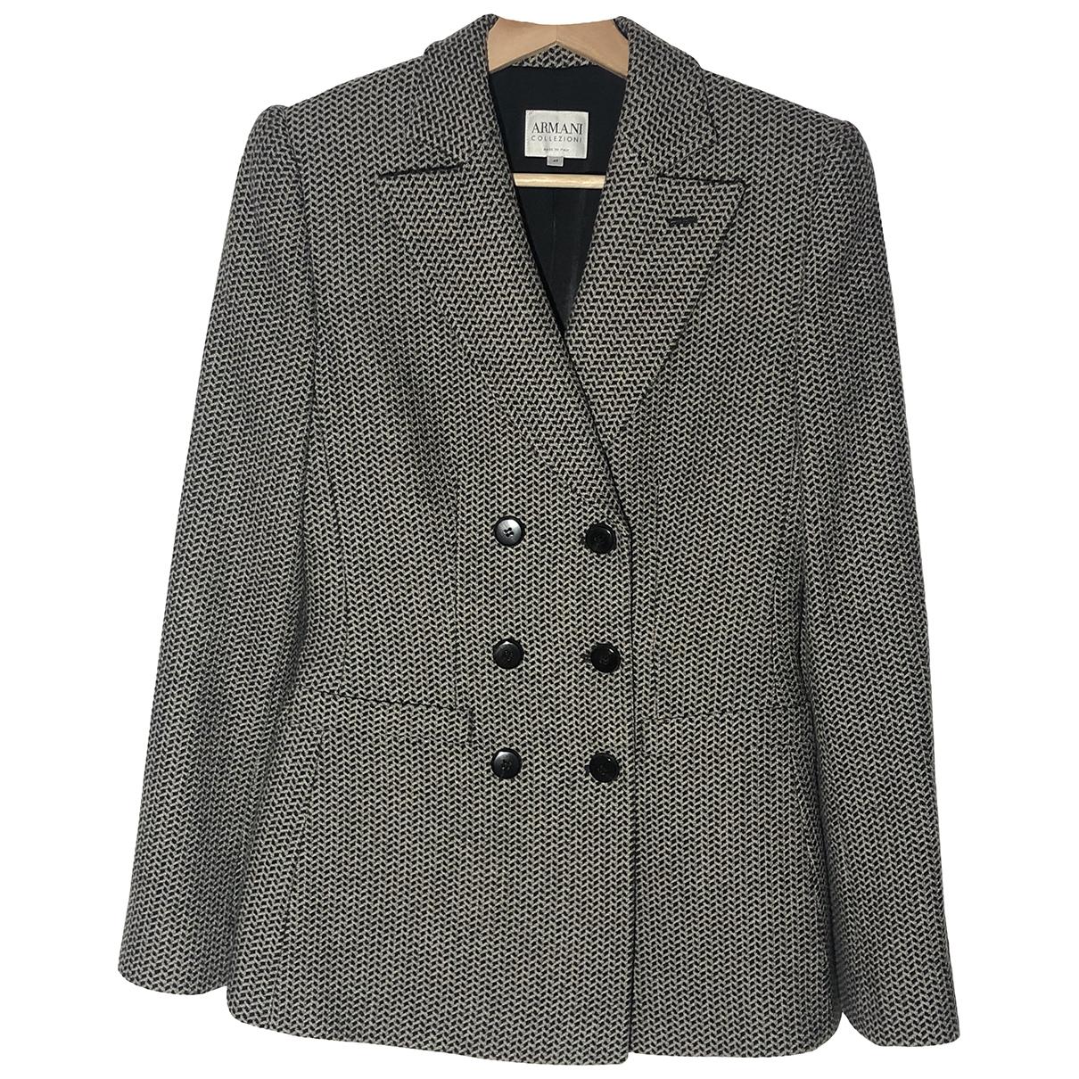 Armani Collezioni \N Multicolour Wool jacket for Women 42 IT