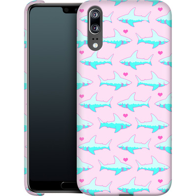 Huawei P20 Smartphone Huelle - Sharks and Hearts von caseable Designs