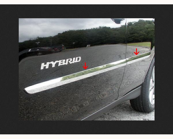 Quality Automotive Accessories 4-Piece Rocker Panel Accent Trim Kit Lexus RX Series 2006