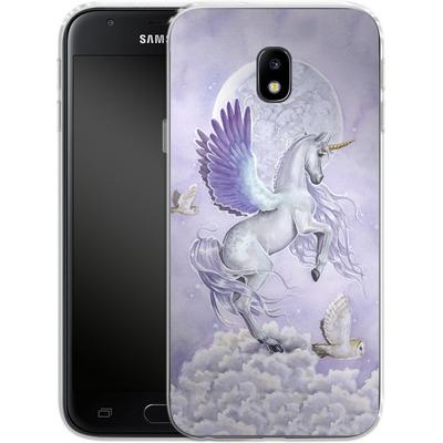 Samsung Galaxy J3 (2017) Silikon Handyhuelle - Selina Fenech - Moonshine von TATE and CO