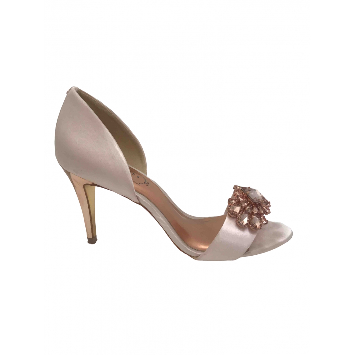 Ted Baker \N Pink Cloth Heels for Women 3 UK