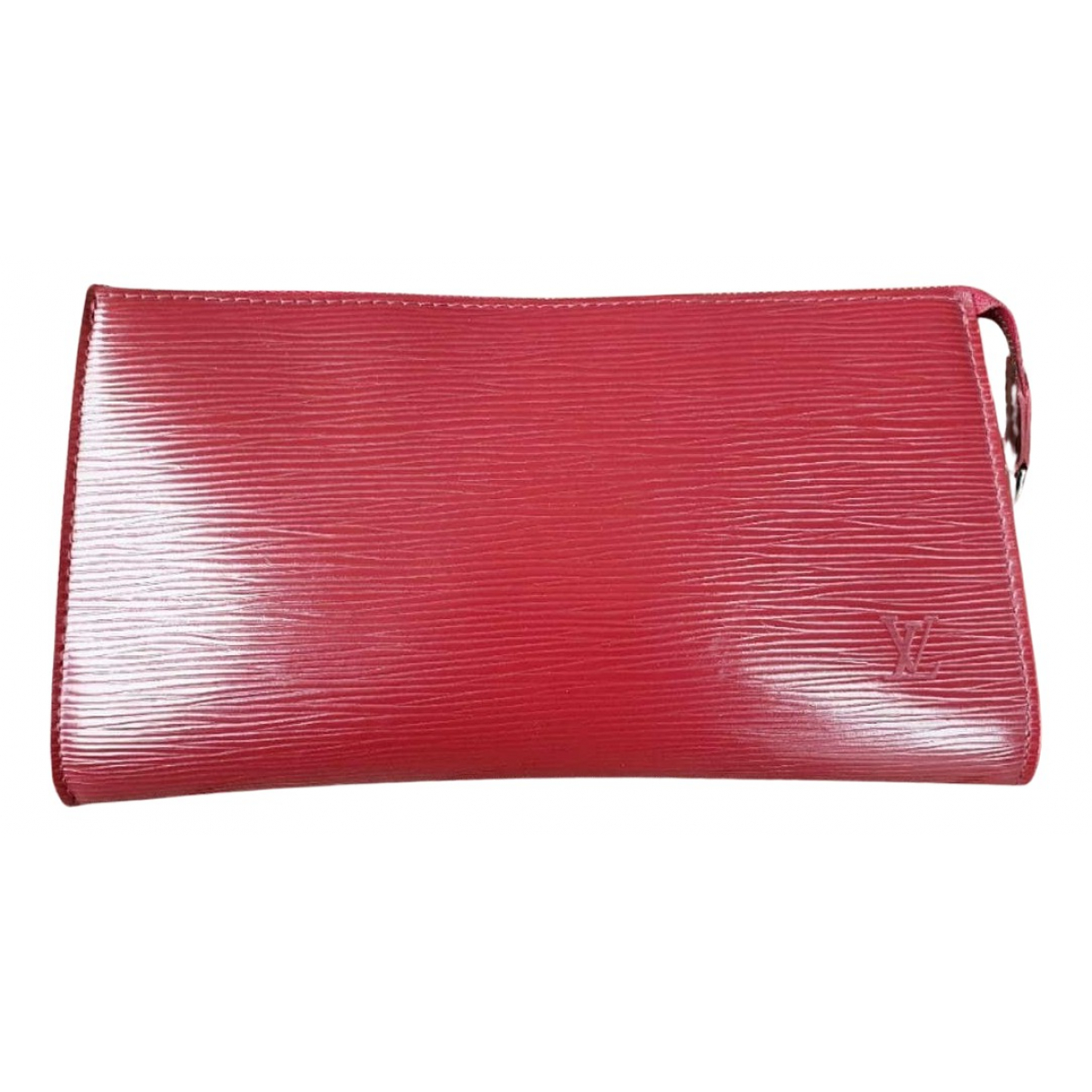 Louis Vuitton N Red Leather Clutch bag for Women N