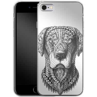Apple iPhone 6 Silikon Handyhuelle - Labrador von BIOWORKZ