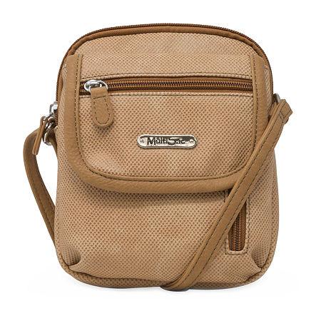 Multi Sac Crossbody Bag, One Size , Brown