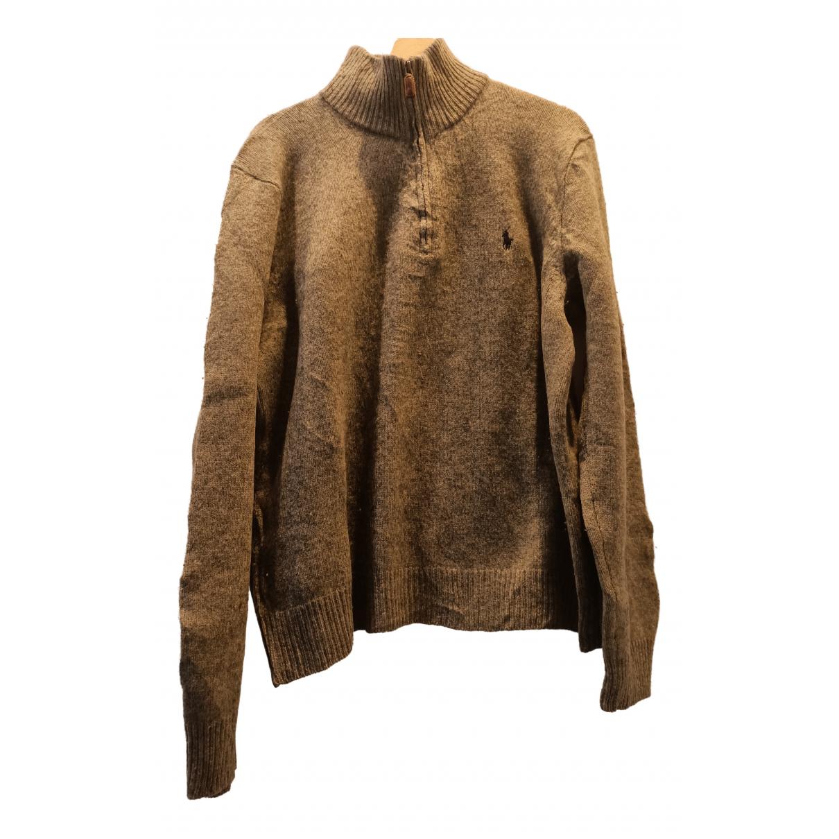 Polo Ralph Lauren N Grey Wool Knitwear & Sweatshirts for Men XL International