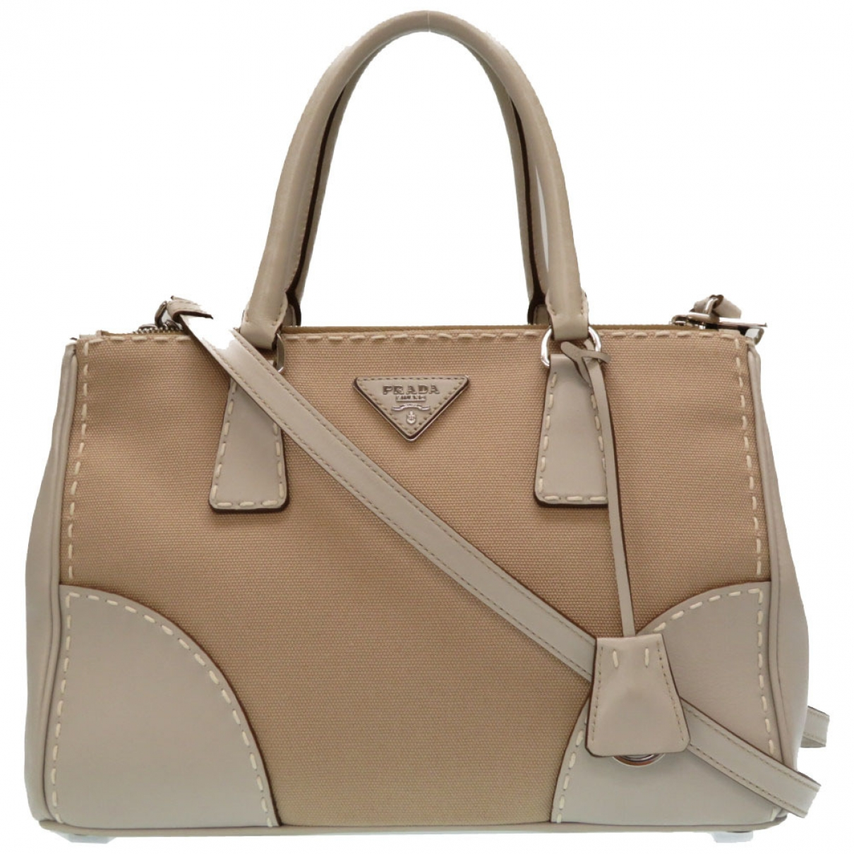 Prada \N Grey Cloth handbag for Women \N