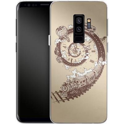 Samsung Galaxy S9 Plus Silikon Handyhuelle - Time Travel von Enkel Dika