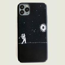 iPhone Etui mit Astronaut Muster