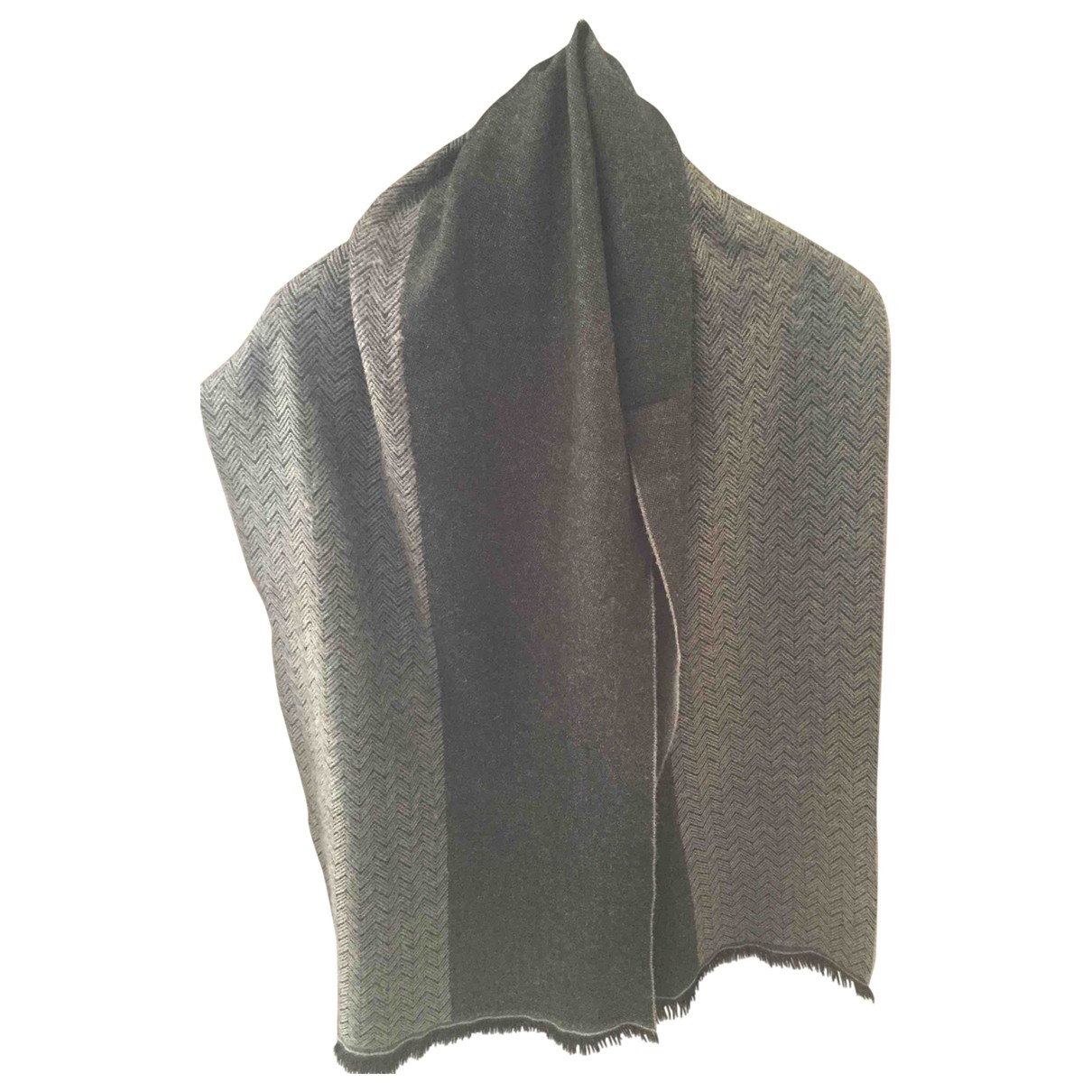 Paul Smith - Foulard   pour femme en laine - gris