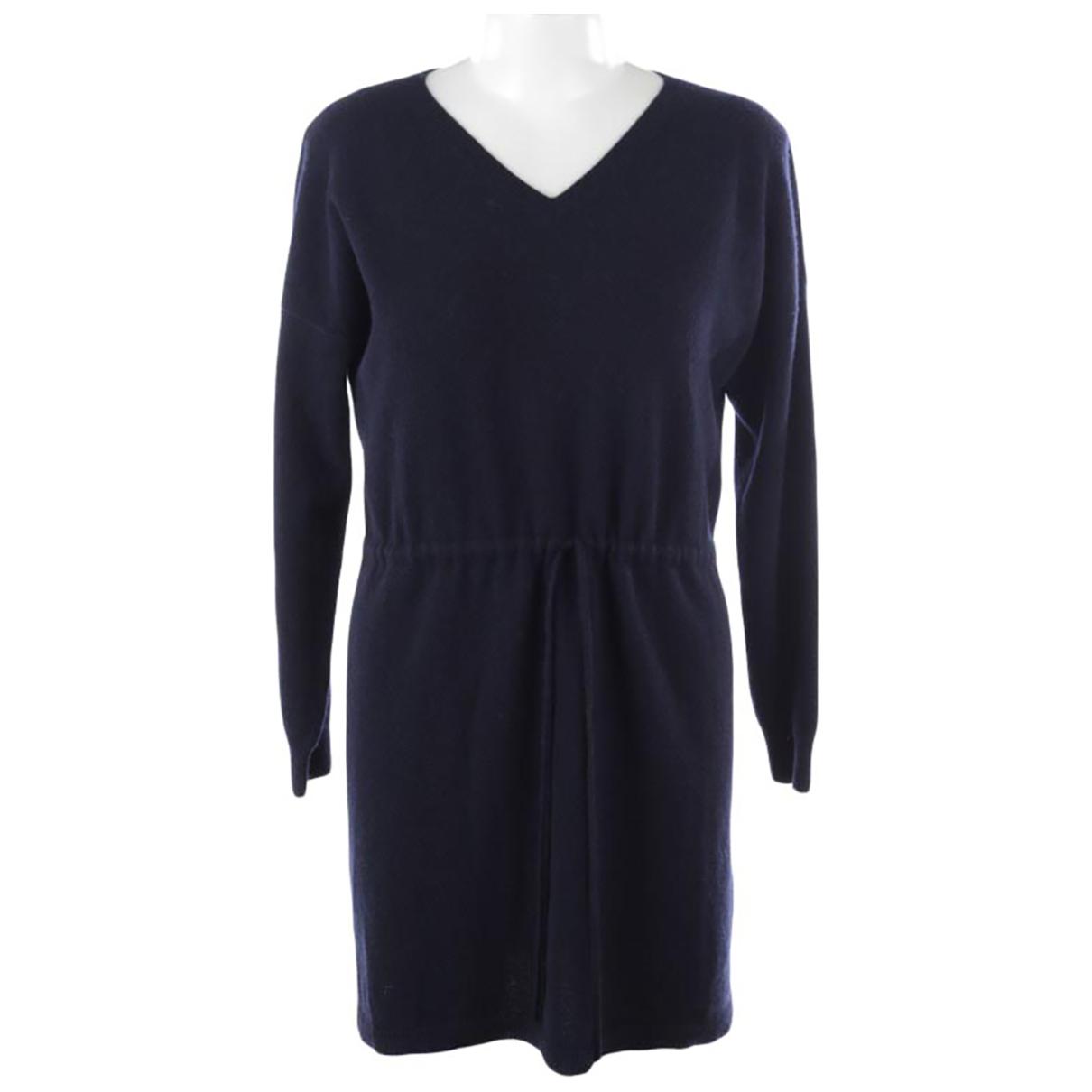 Autre Marque \N Kleid in  Blau Kaschmir