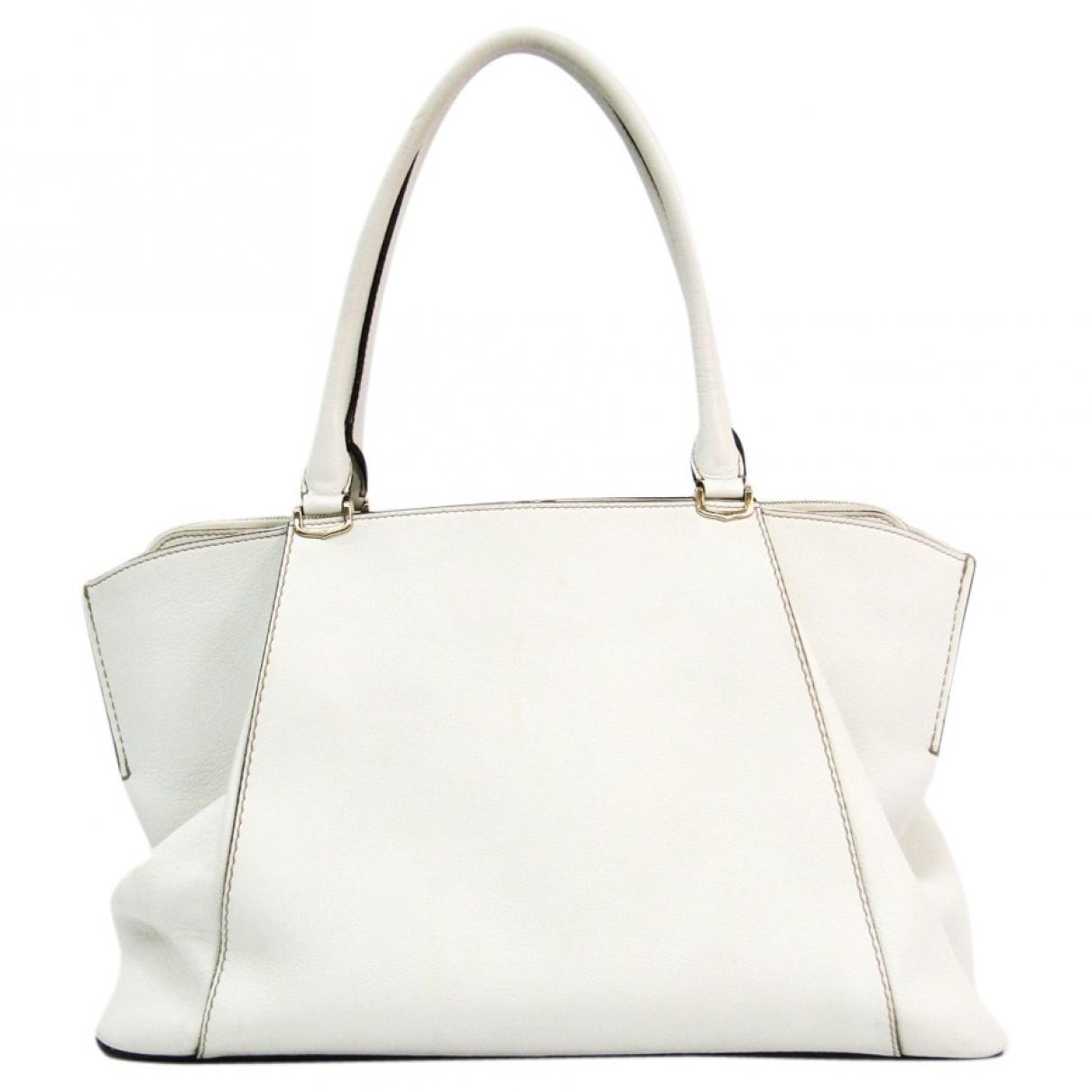 Cartier \N White Leather handbag for Women \N