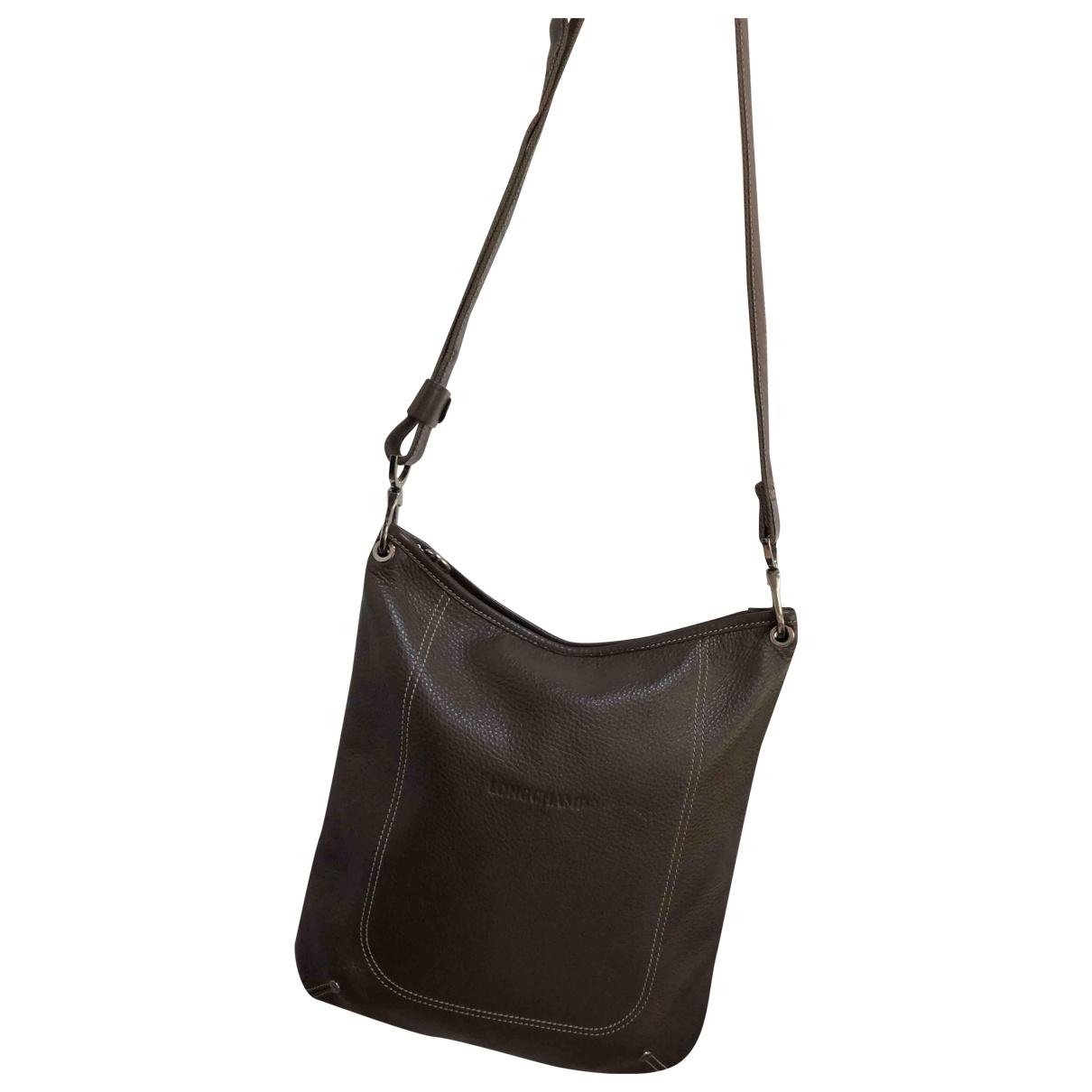 Longchamp N Brown Leather Clutch bag for Women N