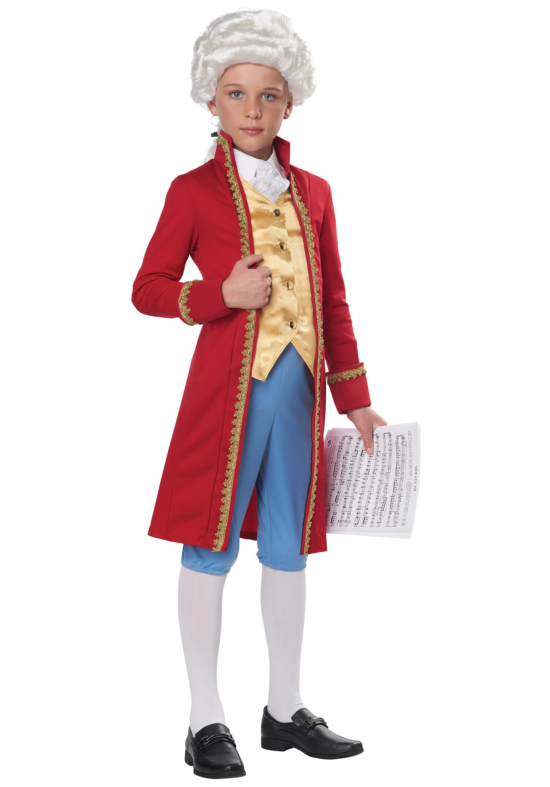 Classical Composer Kids Costume