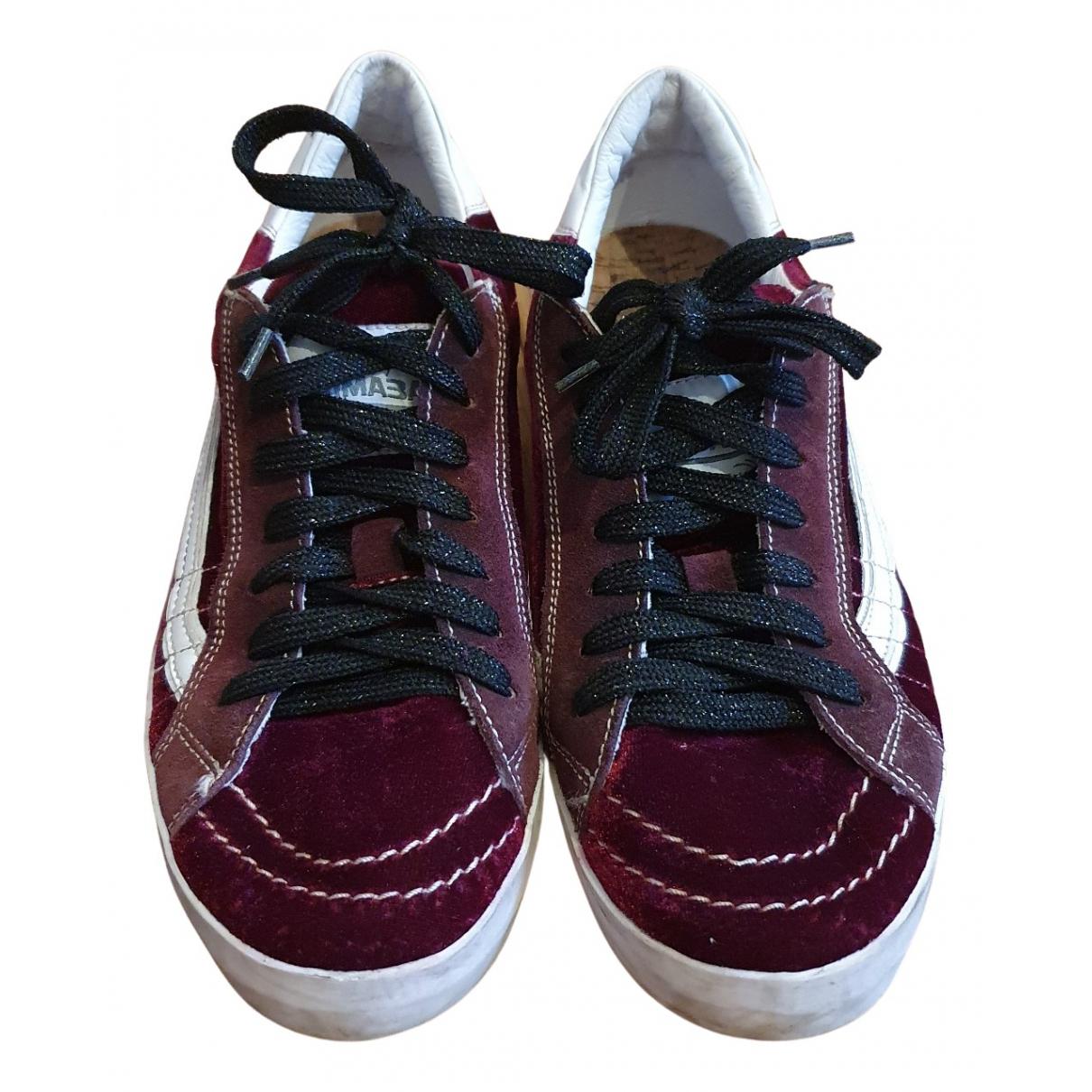 Primabase \N Sneakers in  Lila Samt