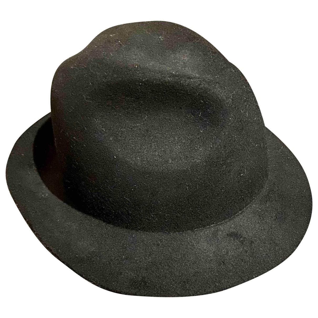 Hallhuber \N Black Wool hat for Women 54 cm