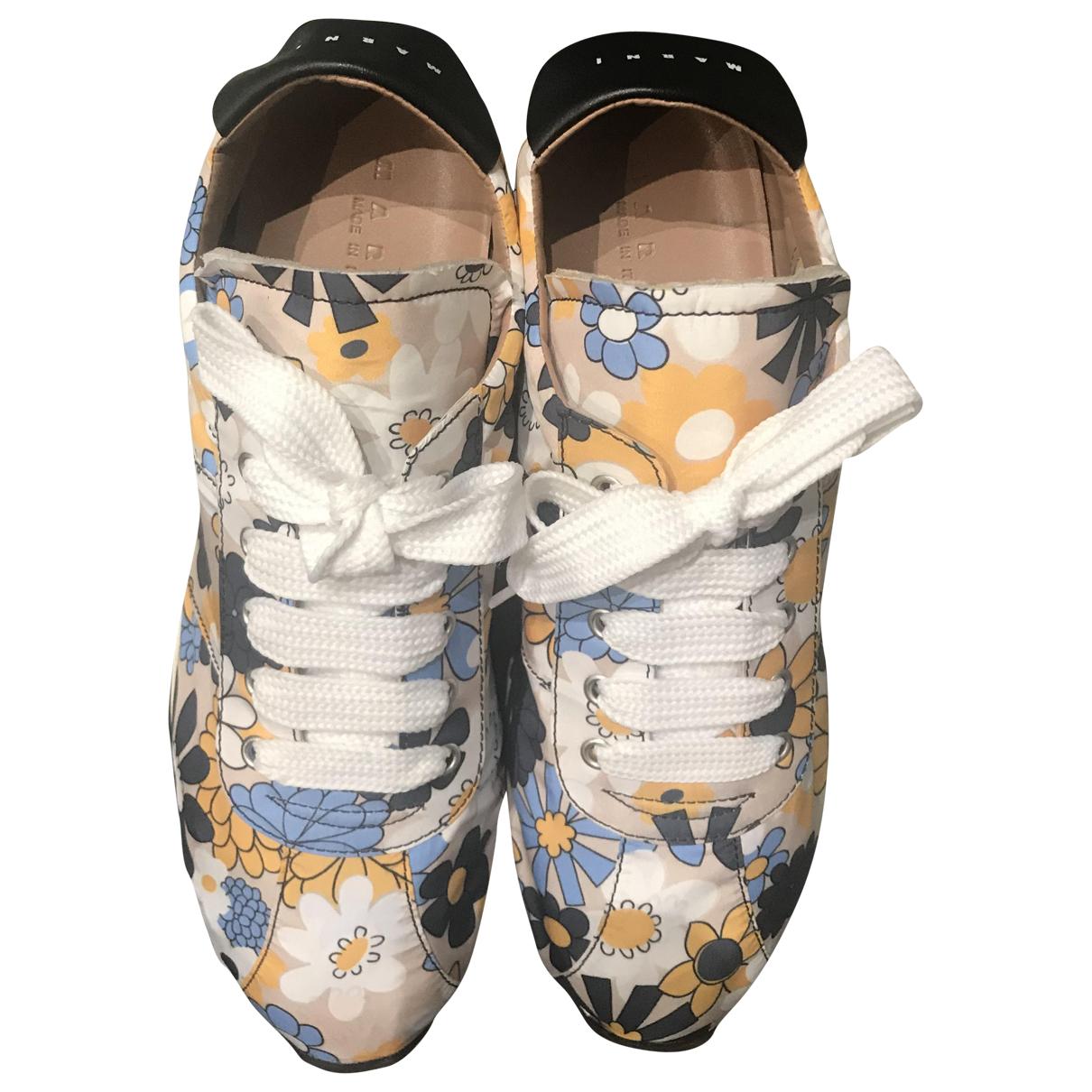 Marni \N Sneakers in  Bunt Polyester