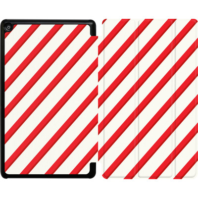 Amazon Fire HD 8 (2017) Tablet Smart Case - Candy Cane von caseable Specials