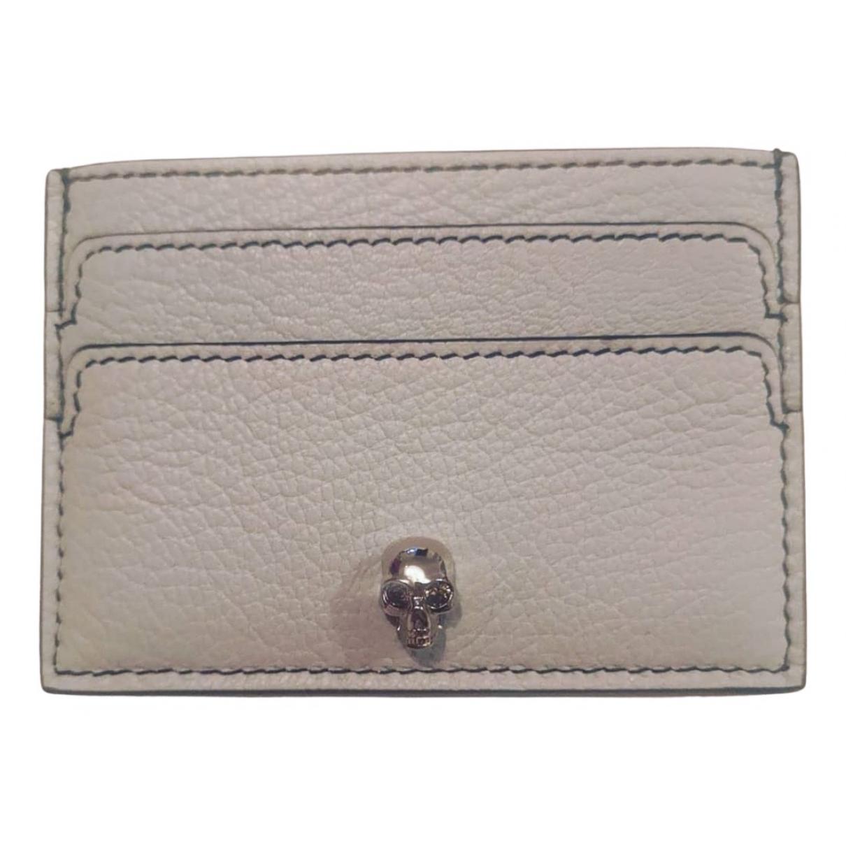 Alexander Mcqueen N Blue Leather Purses, wallet & cases for Women N