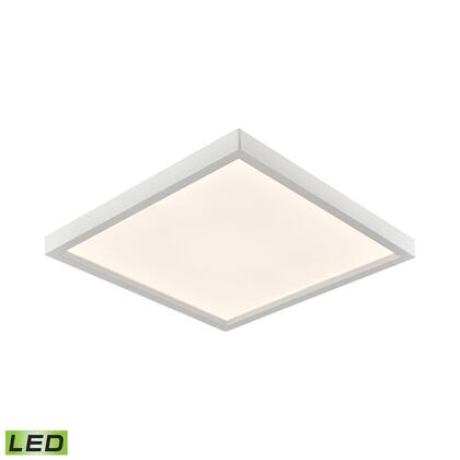 CL791734 Ceiling Essentials Titan 15-inch Square Flush Mount in White - Integrated