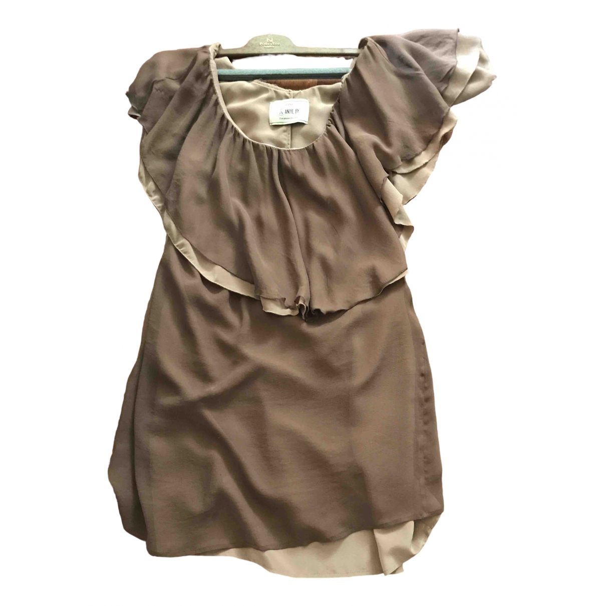 Vestido midi de Seda Aniye By
