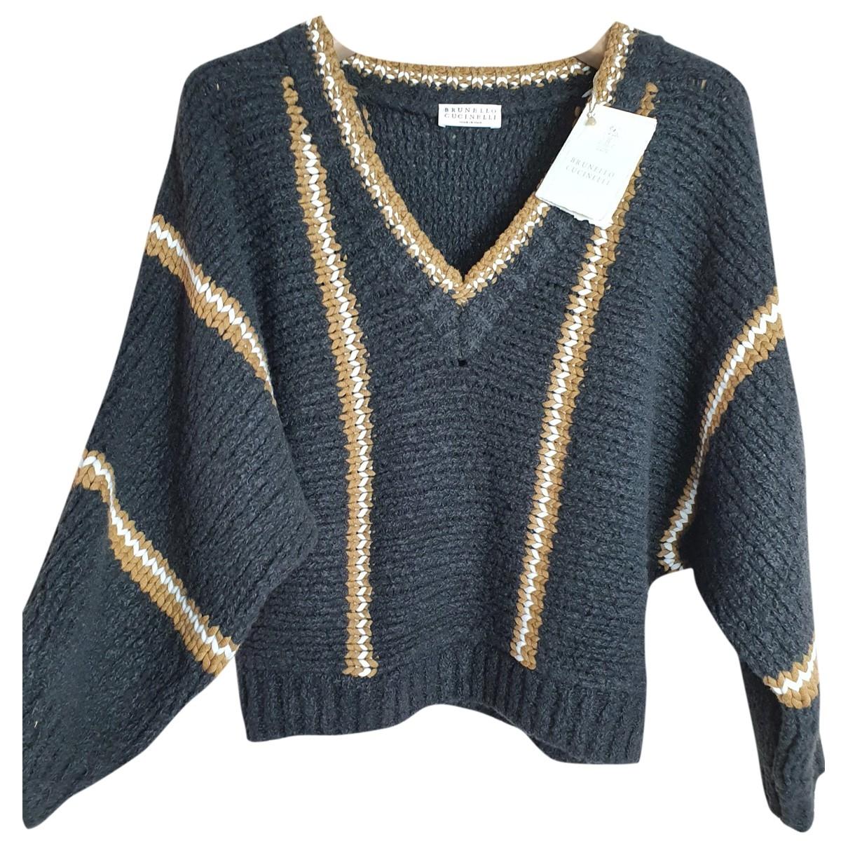 Brunello Cucinelli \N Black Wool Knitwear for Women XS International