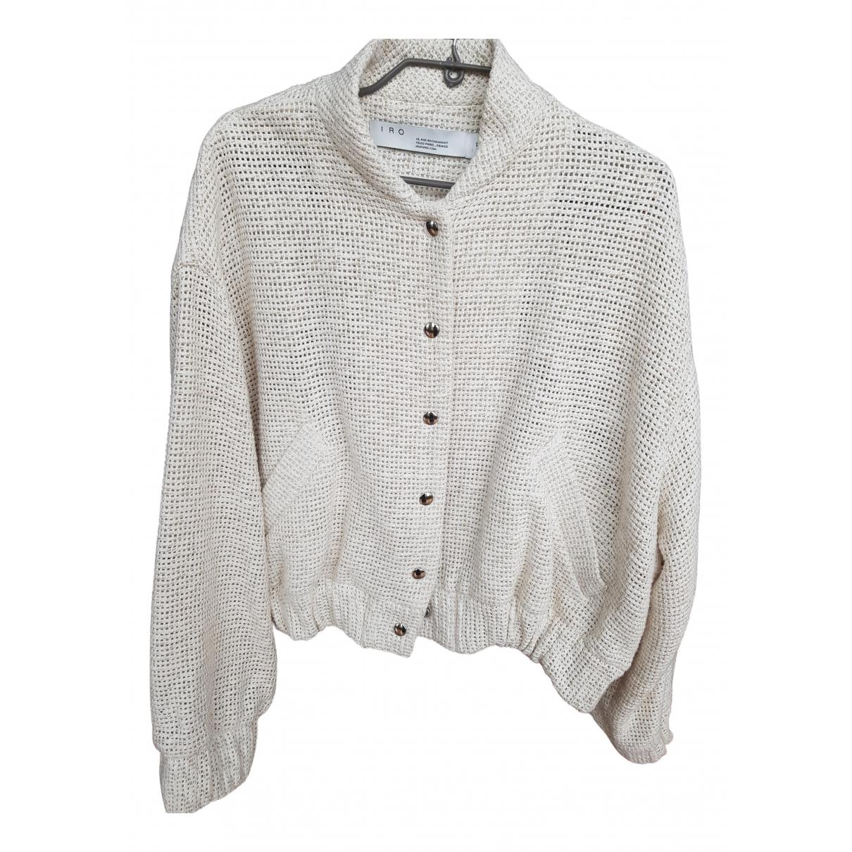 Iro - Veste Spring Summer 2020 pour femme en coton - ecru