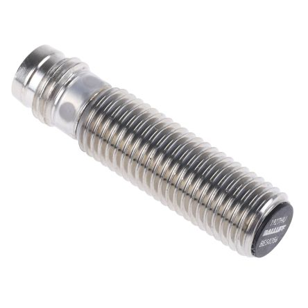 BALLUFF M8 x 1 Inductive Sensor - Barrel, PNP-NO Output, 1.5 mm Detection, IP67, M8 - 3 Pin Terminal